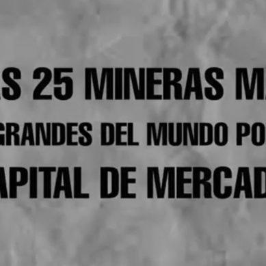 Las mineras más grandes del mundo por capital de mercado