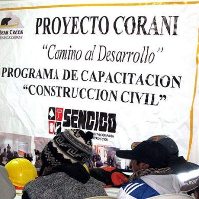 La estrategia social de minera Bear Creek para sacar adelante proyecto Corani