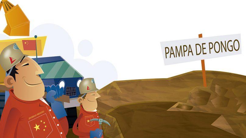 Jinzhao busca construir campamento de 3,200 personas para el desarrollo de Pampa de Pongo