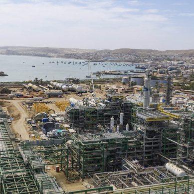 Modernización de Refinería Talara registra un avance del 68.83%
