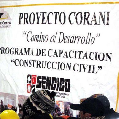 Bear Creek obtiene permisos para Corani; ahora se enfocará en el cierre financiero del proyecto de plata