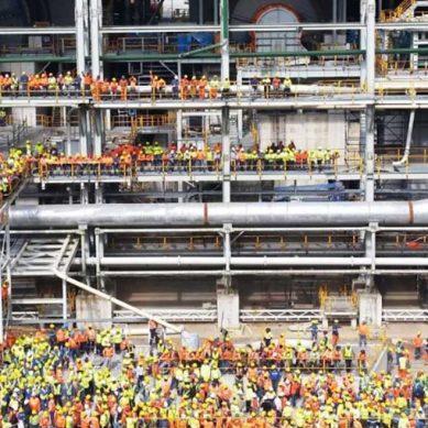 ¡Hay 1,600 peruanos trabajando en colosal proyecto Cobre Panamá!, afirma Stracon