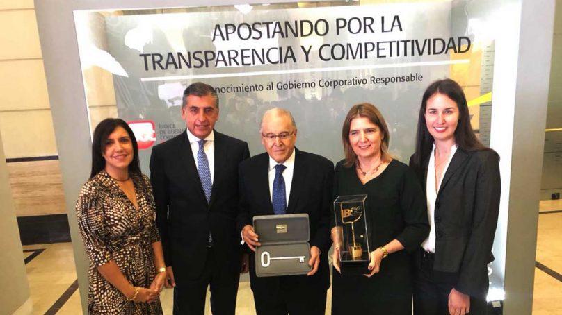 BVL reconoce por sexta vez a Ferreycorp por el mejor Gobierno Corporativo