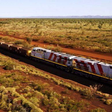 Tren autónomo de Rio Tinto completó su primera entrega de mineral de hierro
