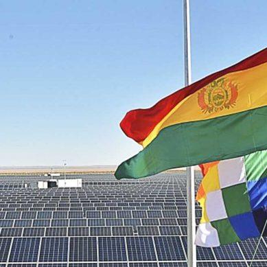 Planta de energía solar más grande de Bolivia inició sus operaciones