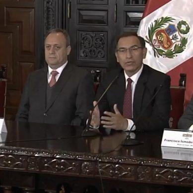 Vizcarra: Mina Justa impulsará crecimiento económico y la inversión social