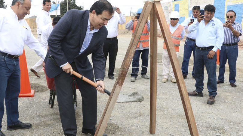 Ferreyros y Fargoline inician construcción de colegio en Ica a través de Obras por Impuestos