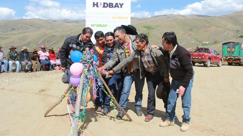 Comunidad de Uchucarcco y minera Hudbay Perú inauguran trocha carrozable