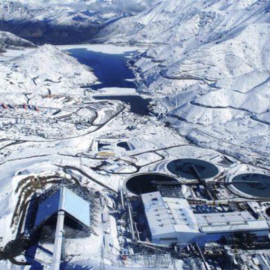 Antofagasta Minerals produjo 387,300 toneladas de cobre fino durante el primer semestre