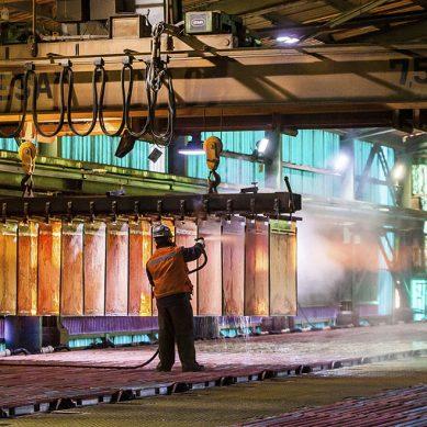 Precio del cobre sigue en picado y sus perspectivas no son las mejores