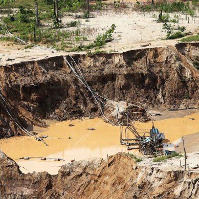 Juzgado de Ucayali sentencia a ocho años de cárcel a minero ilegal