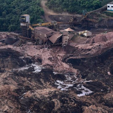 Restringen construcción de represas minerales en Brasil