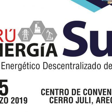 MEM oficializa foro Perú Energía Sur 2019 que se realizará en Arequipa