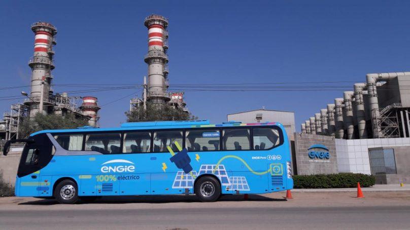 Bus 100% eléctrico desafiará zonas altas de Cajamarca transportando a personal de la mina Cerro Corona
