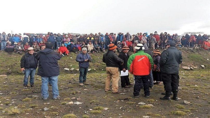 """Poder Judicial revisará """"uno a uno"""" los expedientes de comuneros denunciados en Las Bambas"""