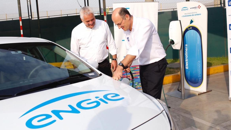 Engie Perú y VINCI inician la «transición verde» con un auto eléctrico en Evitamiento