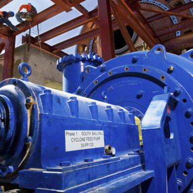 MDX 600, la bomba centrífugra de lodos que girará pronto en el molino de Quellaveco
