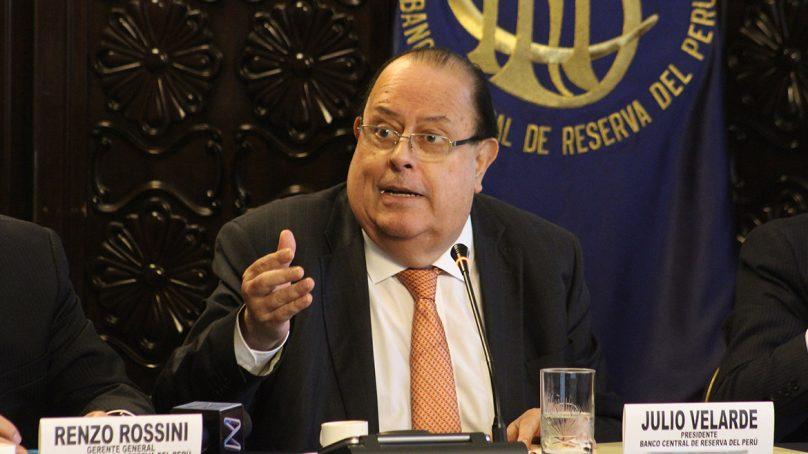 «Ni en mis peores pesadillas podría pensar que la economía cayera 40%»: Julio Velarde a Bloomberg