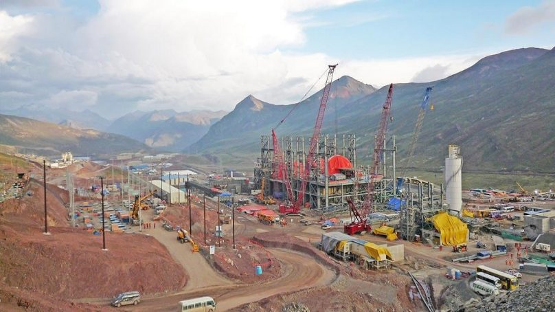 Las tuberías para la relavera de Toromocho ya tienen un nuevo responsable: Cosapi