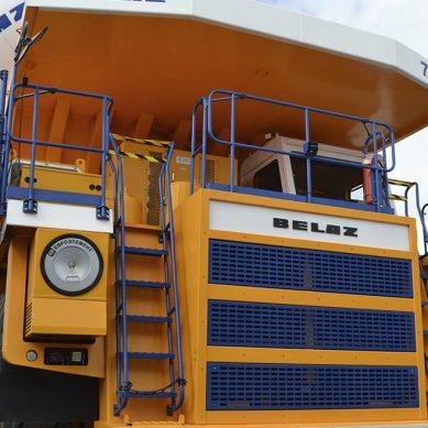 Antamina negocia probar camión minero de 450 toneladas de la bielorrusa Belaz