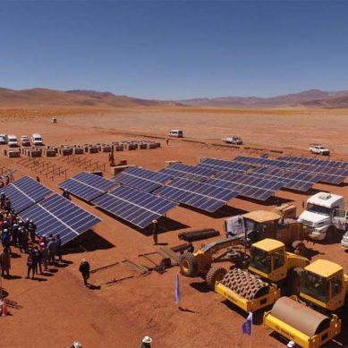Argentina firma ampliación de planta solar Cauchari por 200 Mw adicionales