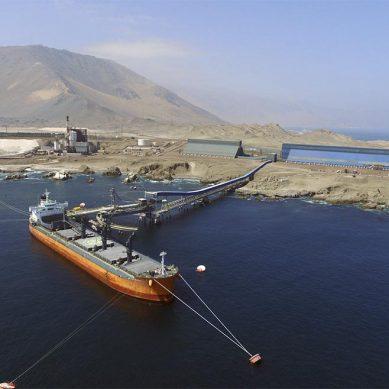 Perú exportó 11.6% menos de cobre de enero a agosto