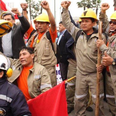 Gremio de trabajadores mineros convoca huelga nacional para el 27 de noviembre