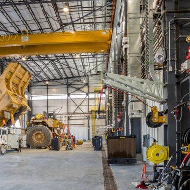 Quellaveco: Sacyr realizará trabajos para chancador, faja trasportadora y taller de camiones