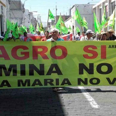 Bancada Arequipeña propone solución «pacífica y legal» al conflicto social de Tía María