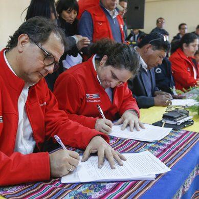 Ministros viajaron a Tacna para atajar protestas por recursos hídricos