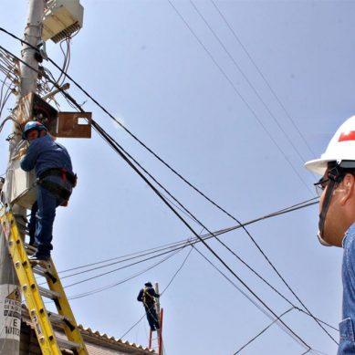 Osinergmin reduce tarifa del servicio eléctrico en 1,21% para usuarios domésticos