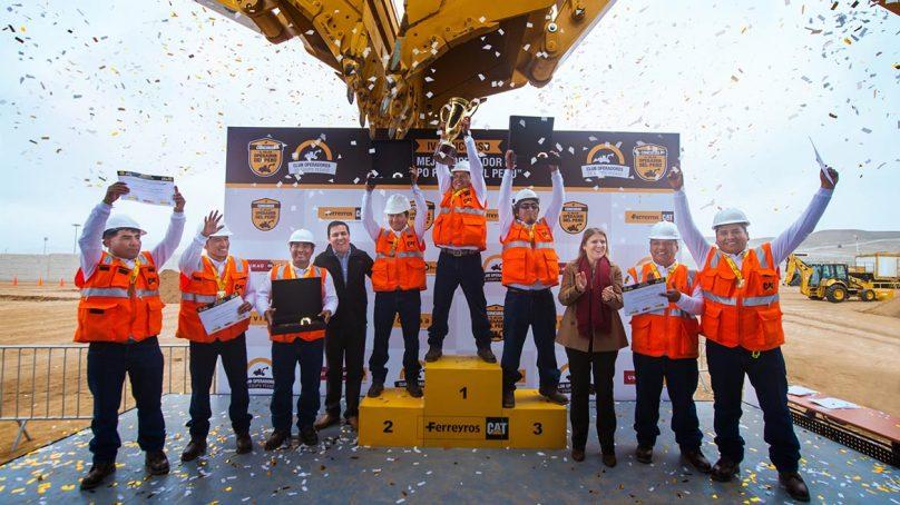 Conoce a los tres mejores operadores que representarán al Perú en torneo de Caterpillar