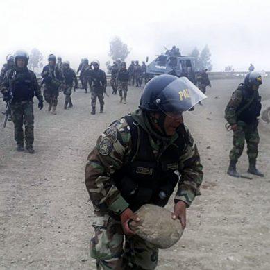 Las Bambas: Gobierno autorizó hoy la intervención de las fuerzas armadas y la policía