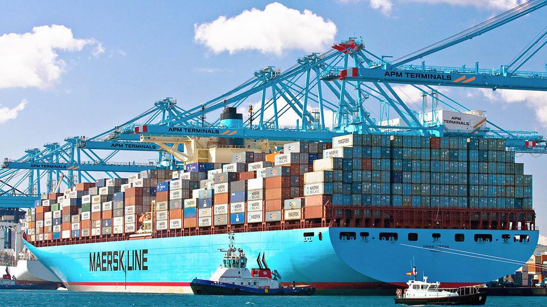Naviera Maersk realizará pruebas piloto con un sistema de baterías