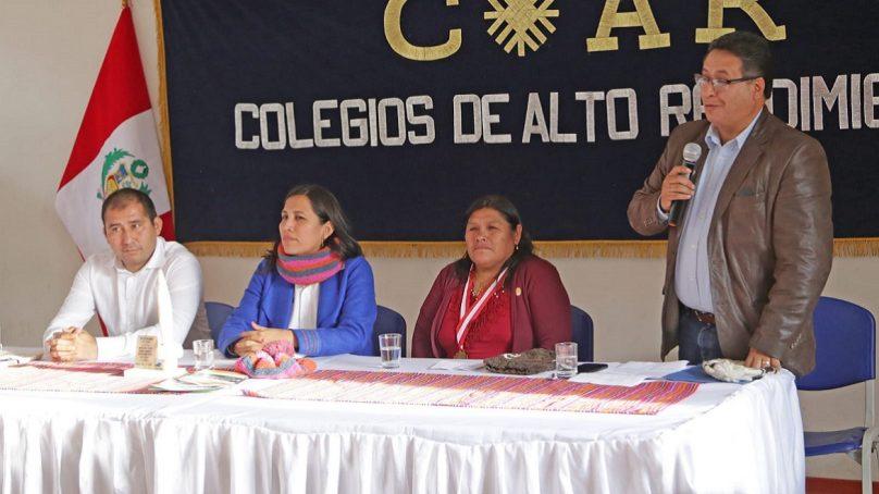 Antamina firma convenio para financiar Colegio de Alto Rendimiento en Recuay