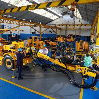 Peruana Resemin reinicia exportación de equipos mineros: un Troidon 55 para México