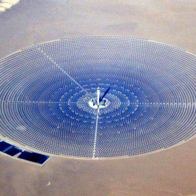 Crescent Dunes, la planta solar de US$1,000 millones que hoy no le sirve a nadie