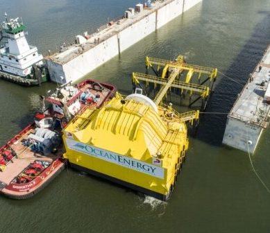 OE35, el invento que aprovecha las olas del mar para generar electricidad