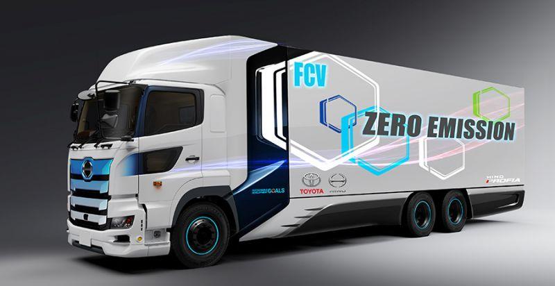 Gigante japonesa Toyota anuncia el desarrollo de su primer camión a hidrógeno