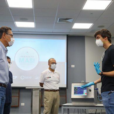 Presidente Vizcarra anuncia producción de 10 ventiladores mecánicos por día