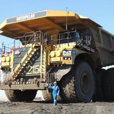 Gas natural licuado gana espacio en camiones mineros de Caterpillar