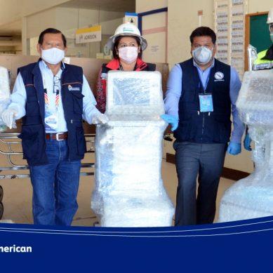 Anglo American entregó 6 unidades de cuidados intensivos al Gobierno Regional de Moquegua