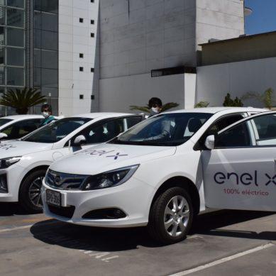Coronavirus: Enel X presta tres autos eléctricos para transportar personal de salud