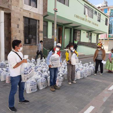 Quellaveco: Anglo American reparte 12,000 canastas de víveres en Moquegua