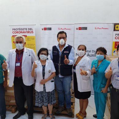 San Juan de Miraflores: TGP dona equipos de bioseguridad para hospital María Auxiliadora