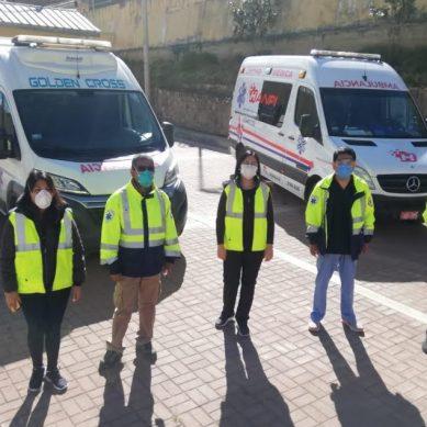 Áncash: Antamina entrega ambulancias para hospital y 500 pruebas de descarte