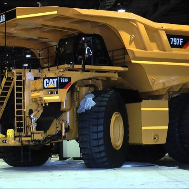 Camión minero Cat 797F, el invento más genial hecho en Illinois