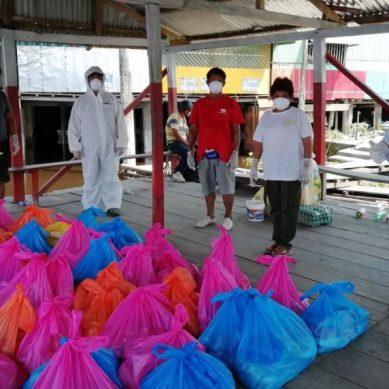 Refinería Iquitos: Petroperú entrega víveres a familias de 13 comunidades cercanas