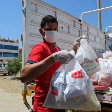 Petroperú entrega 1.000 paquetes con víveres para población vulnerable de Talara