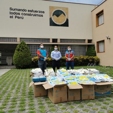 Pluspetrol se suma a la lucha contra el Covid-19 con donativo para el SAMU